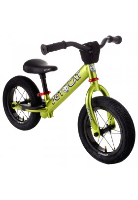 Беговел - JETCAT - 12 Sport - SL - AIR PRO - Green/Red (зеленый-красный)