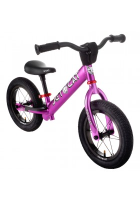 Беговел - JETCAT - 12 Sport - SL - AIR PRO - Purple/Red (сиреневый-красный)