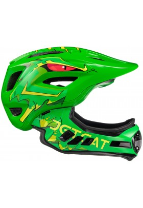Шлем FullFace - Raptor SE (Green Dragon) - JETCAT