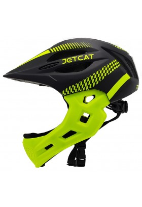 Шлем FullFace - Start (Black/Green) -  JetCat