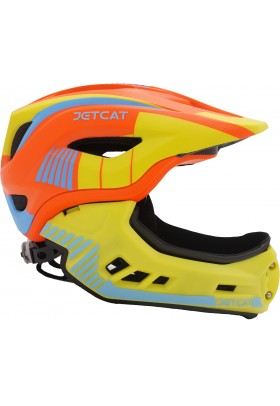 Шлем FullFace - Raptor (Orange/Yellow/Blue) -  JetCat